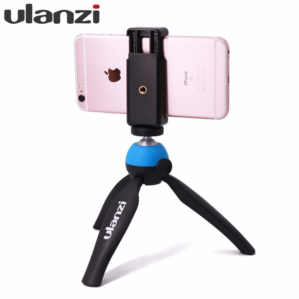 iphone camera holder ulanzi mini tripod with holder mount selfie portable 11687