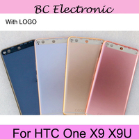 Original Metal Rear Housing Door For HTC One X9 X9U Back Battery Cover Case With Volume
