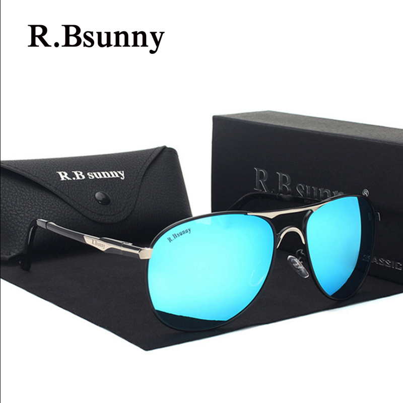 R.Bsunny R7611 Brand Designer Polarized Men Women Sunglasses Vintage Fashion Driver Sun Glasses