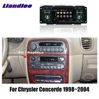 Liandlee 2 Дин Android для Chrysler Concorde 2004 ~ 1998 радио gps карты географические карты навигации плеер HD экран BT Wi Fi Media системы