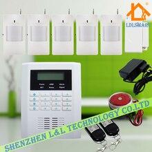 Беспроводная Интеллектуальная Система Сигнализации GSM PSTN Двойного Сети Охранная Главная Дом Охранной Сигнализации