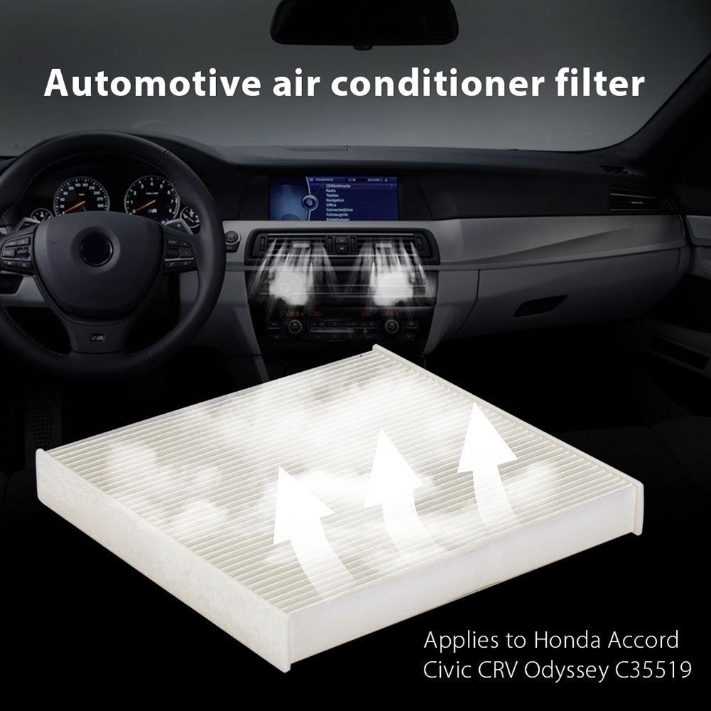Car Cabin Air Condition Filter Replacement Climate Control For Honda 07 Accord Carbon Fiber Fuse Box Crv Odyssey Crosstour In From Automobiles Motorcycles On