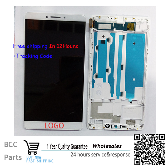 A++ quality For OPPO R7 plus R7Plus LCD display+Touch screen Panel Digitizer with frame in stock!Tested ok!Free shipping