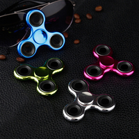 Fidget Spinner Hand Tri Spinners Plastic Relieve Stress Finger Spiner Anti Autism & ADHD Adult Relax Toys Kids Handspinner Gift