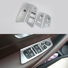 Car-styling exterior accessories ABS Chrome Armrest Window Lift Down Cover For BMW 5 Series 2018