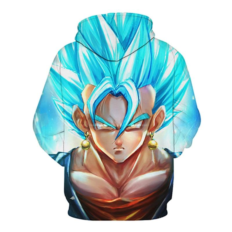 Dragon Ball Z Hoodies Anime Men Women Hooded Sweatshirts 3D Pullover Male Tracksuit Harajuku Hot Sale Funny Cartoon Kid Poakcet