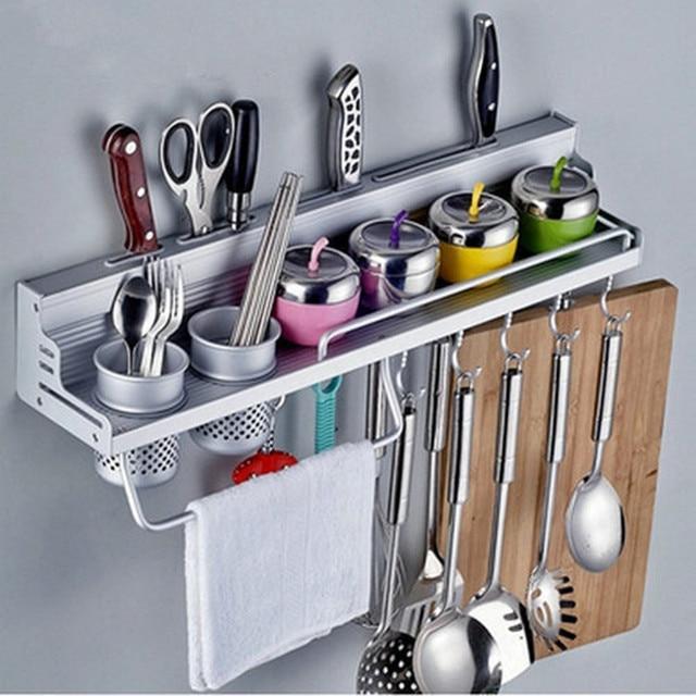 Smartlife doppi fori appeso Creativo Spice rack coltello da cucina ...