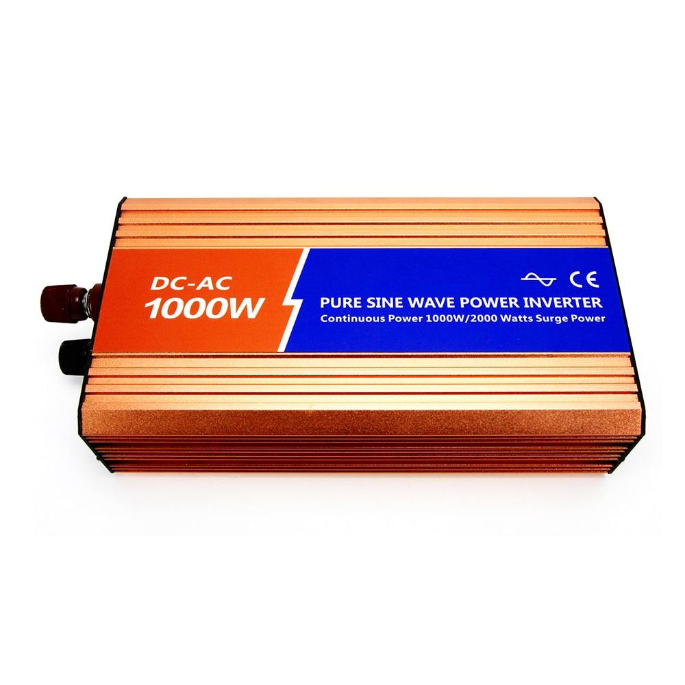 MAYLAR@ 12VDC 1000W110V/120V/220V/230VAC 50Hz/60Hz Peak Power 2000W Off-grid Pure Sine Wave Solar Inverter or Wind Inverter tp760 765 hz d7 0 1221a