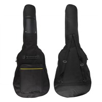 Classic Soft Acoustic Guitar Bass Case Bag Holder With Double Padded Straps 40 Inch Convenient Music