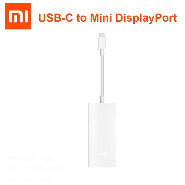 Originale Xiaomi PD 3.0 Macbook USB C a Mini Displayport Adattatore Multifunzione Cavo Astuto del Caricatore Per Il Computer Portatile Tablet Tipo C porta