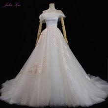 JULIA KUI Wedding Dress Chapel Train Bride Dress