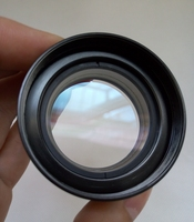 0.5X Barlow AUX Objective Lens For Stereo binocular Microscope Auxiliary Lens 1 7/8 M48*0.75 W.D=165MM