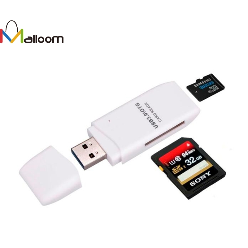 Usb 3 0 Superspeed Sd Micro Sd Memory Card Media Reader: Malloom 2018 Mini Easy Install Drop Shipping 5Gbps Super