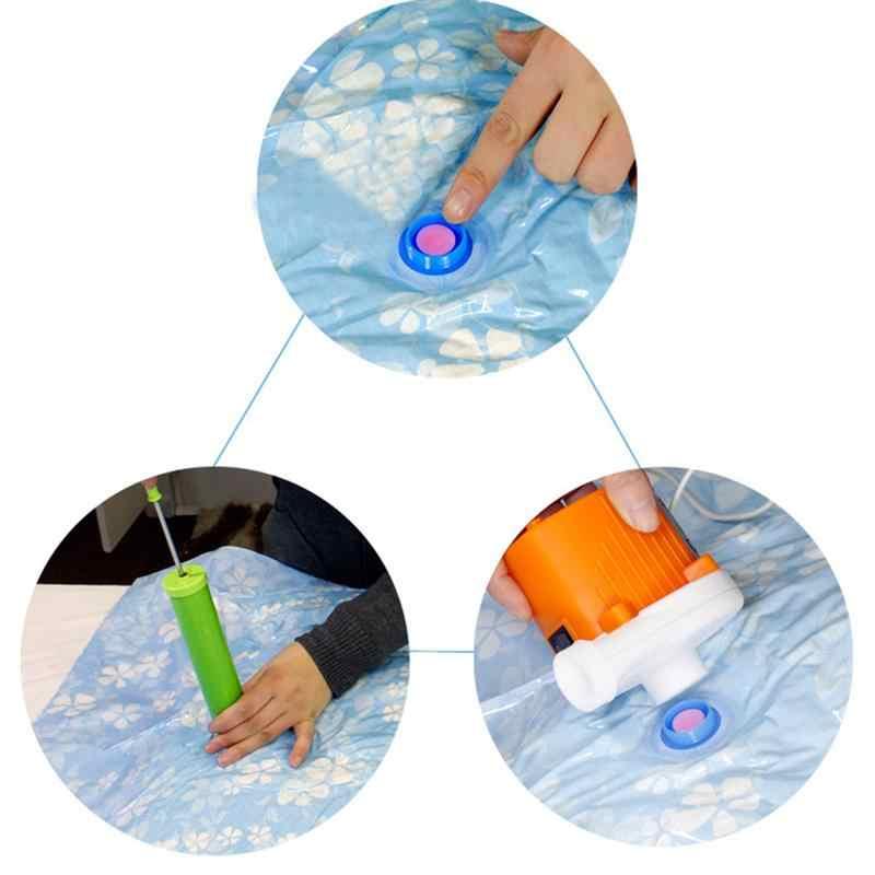 OUNONA 11 sztuk worek próżniowy do przechowywania zagęszczony torba kompresyjna do oszczędzenia miejsca torba do pakowania z pompą ręczną do kołdry kołdra