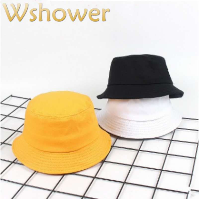 Detail Feedback Questions about Children Cotton Blank Bucket Hat Hip Hop  Outdoor Sunscreen Kids Summer Hat Cap Girl Boy Sun Panama Casual Fisherman  Cap ... c8adc51800a5