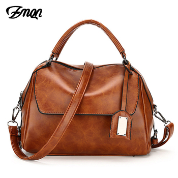 ZMQN Women Leather Handbag Brand Shoulder Bag Casual Tote Bag For Female Sac a Main Vintage Ladies Hand Bag Small Crossbody C603