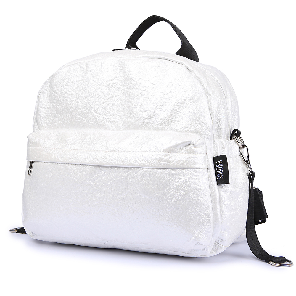 Soboba Brief Large Capacity Pearl Diaper Bags Fashionable Design Baby Care Bag for Strollers Stylish Travelling
