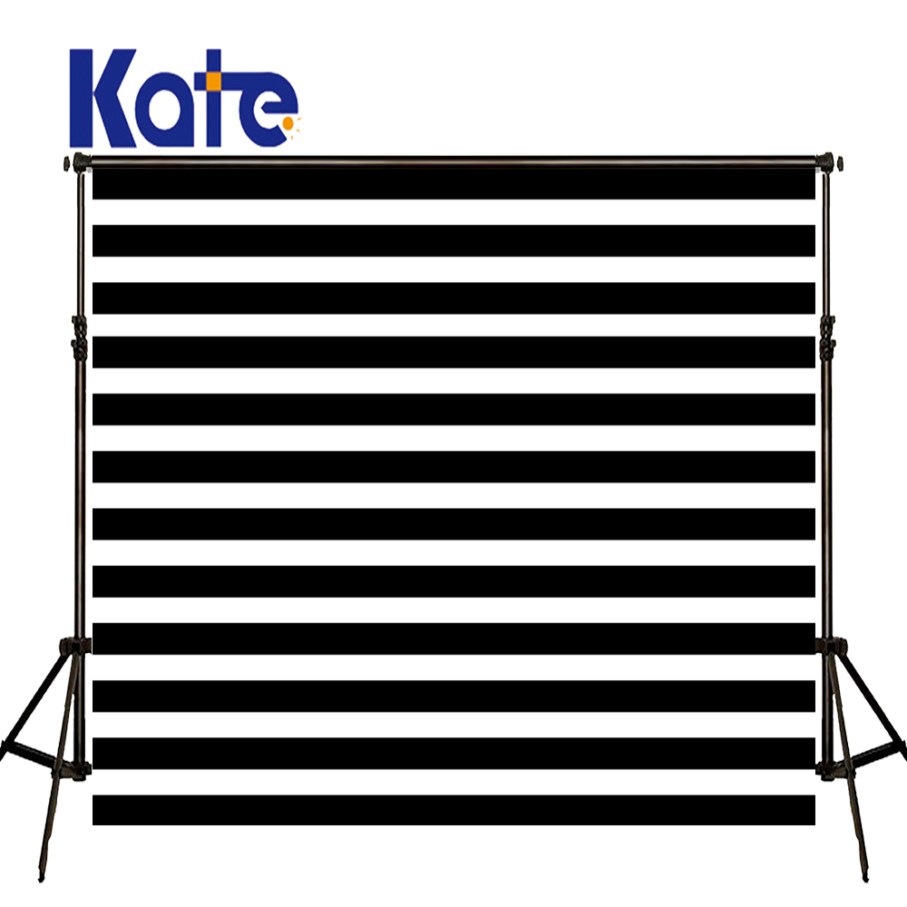 KATE Photo Background Black and White Striped Backdrop Wedding Backdrops Children Photo Background for Photo Studio harman kardon onyx studio 2 black
