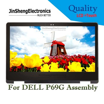 """13.3"""" For Dell P69G LCD Touch Screen Laptop Digitizer Display+Replacement Glass Assmebly 1920x1080"""
