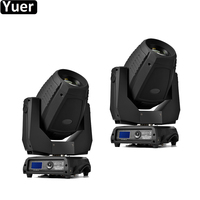 2Pcs/Lot High Power LED 350W 17R Moving Head Light Beam Spot Wash 3IN1 Stage Lights For DJ Bar Disco Party Nightclub