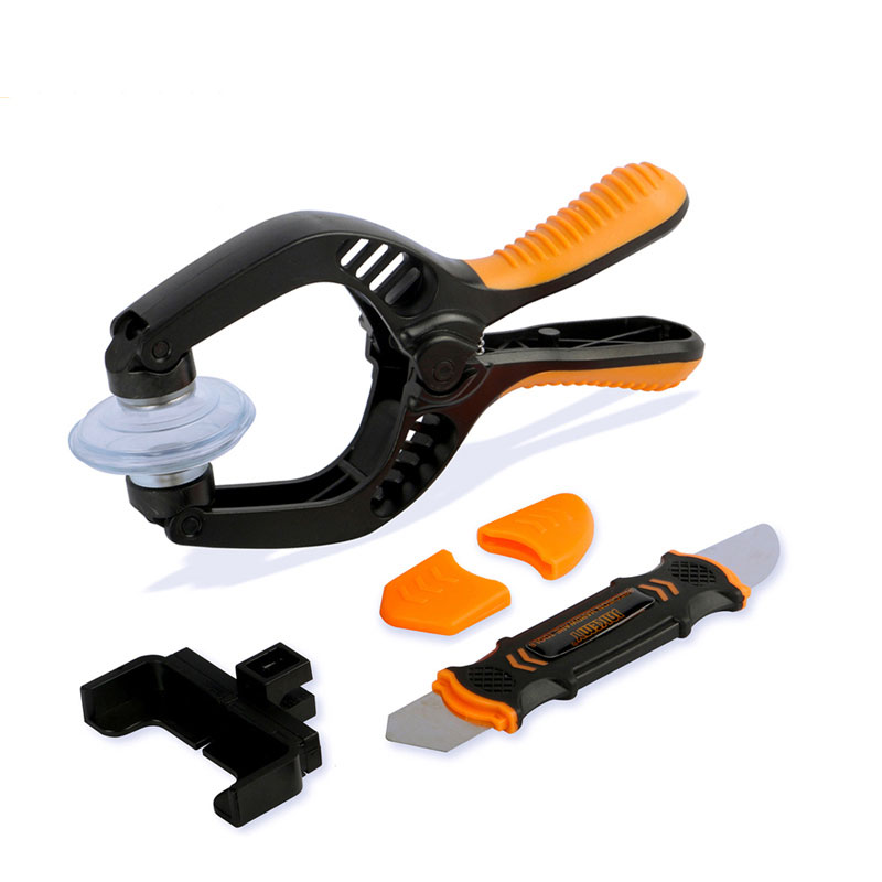 Mobile Phone LCD Screen Opening Pliers Suction Cup Pry Spudger Opening Tools for iPhone iPad Samsung Cell Phone Repair Tool