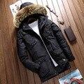 Зимняя Куртка Мужчины Пальто Гуся Пуховик Плюс Размер Мужские Куртки И Пальто Куртка Мужчины Манто Homme M-3XL Wellensteyn Куртка