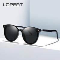 LOPERT Polarized Ladies Sunglasses Women Gradient Lens Women Men Sun glasses Luxury Brand oculos feminino lentes de sol mujer
