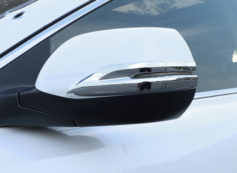 Chrome ABS Rearview Side Mirror Cover Trim For 2017-2018 Honda CRV CR-V