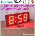 Leeman светодиодный, 2 цифр таймер обратного отсчета Большой 365 Дней Обратного Отсчета 3 Цифры ПРИВЕЛ Таймер Обратного Отсчета IP 65 открытый таймер/счетчик