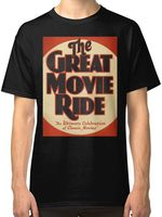 The Great Movie Ride Men S Black T Shirt Tees Clothing