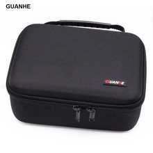 GUANHE 3,5 pulgadas grande HDD USB Flash Drive caja de disco duro externo Cable organizador bolsa de transporte caja usb flash disco GH1603(China)