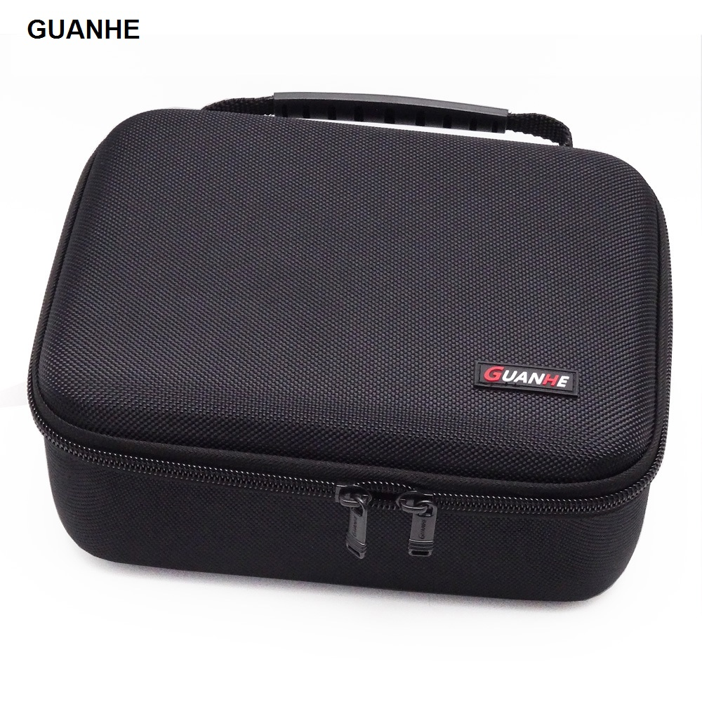GUANHE 3.5 inch Large HDD USB Flash Drive external hard disk case Cable Organizer Bag Carry Case usb flash disk GH1603 цена 2017