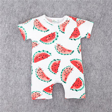 Cotton Short Sleeve Jumpsuits 3-18m