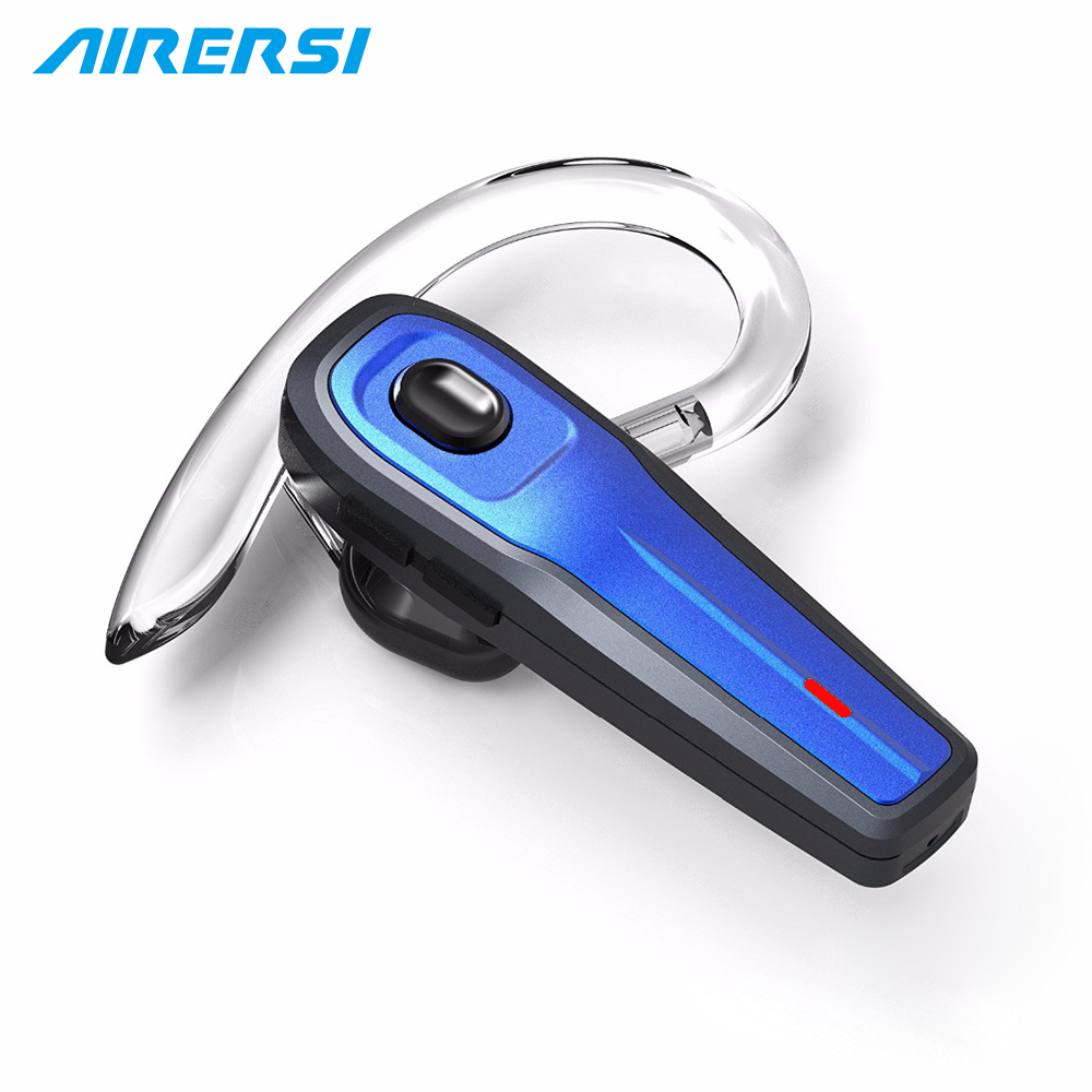 Newest Mini Wireless Bluetooth Headset HD Mic Handsfree Noise Reduction Bluetooth Earphone Headphone with Mute Switch for Phone qcy chinese voice q30 business wireless earphone csr bluetooth 4 2 headphone with dual mic noise reduction headset