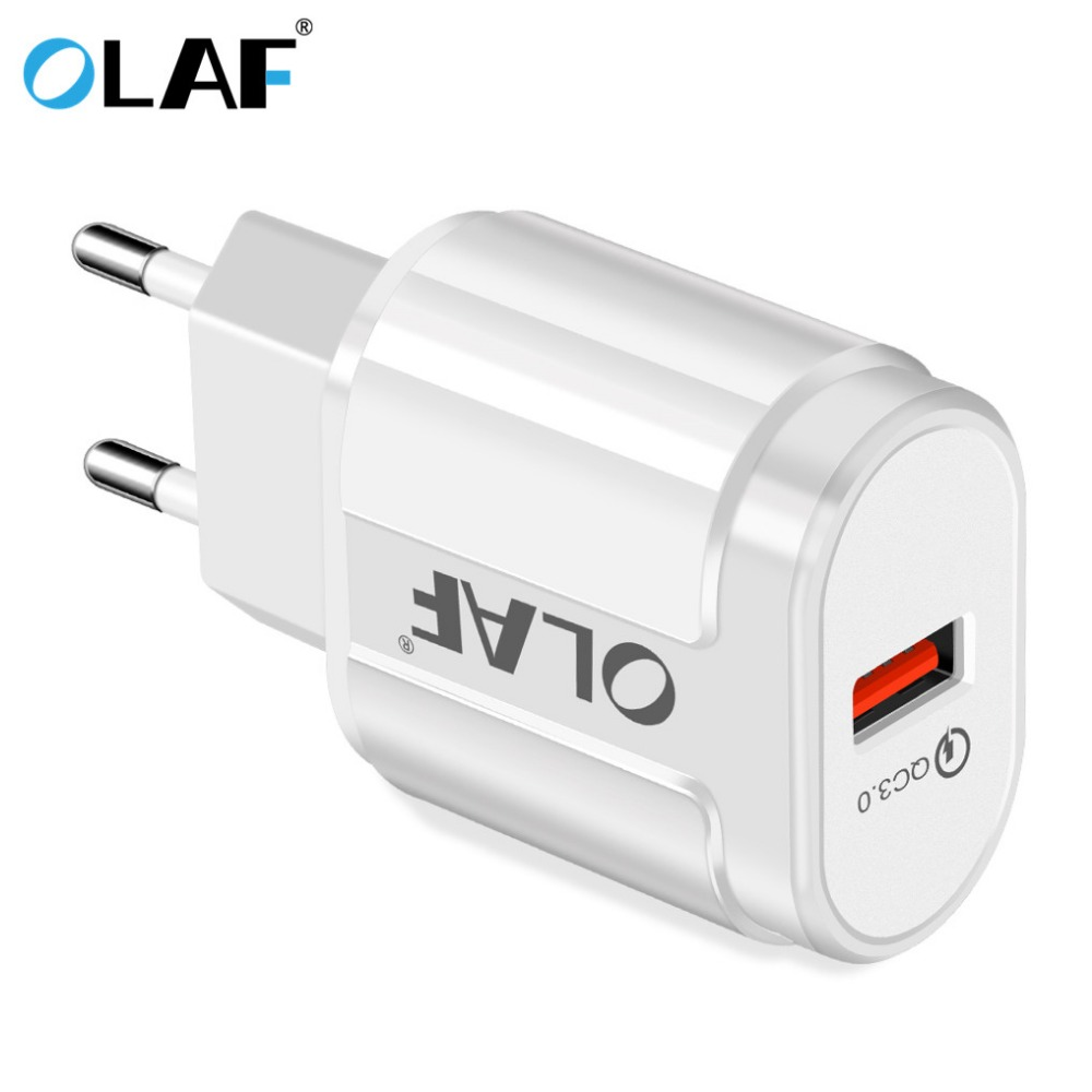 OLAF Universal Fast USB Charger Quick Charge 3.0 QC 3.0 2.0 For iPhone Xiaomi Huawei
