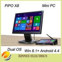PIPO X8 Pro Windows10 and Android 5.1 Intel Z8350 Quad Core Dual Boot OS Intel Z8350  Quad Core Mini PC 7″Tablet Mini PC TV Box