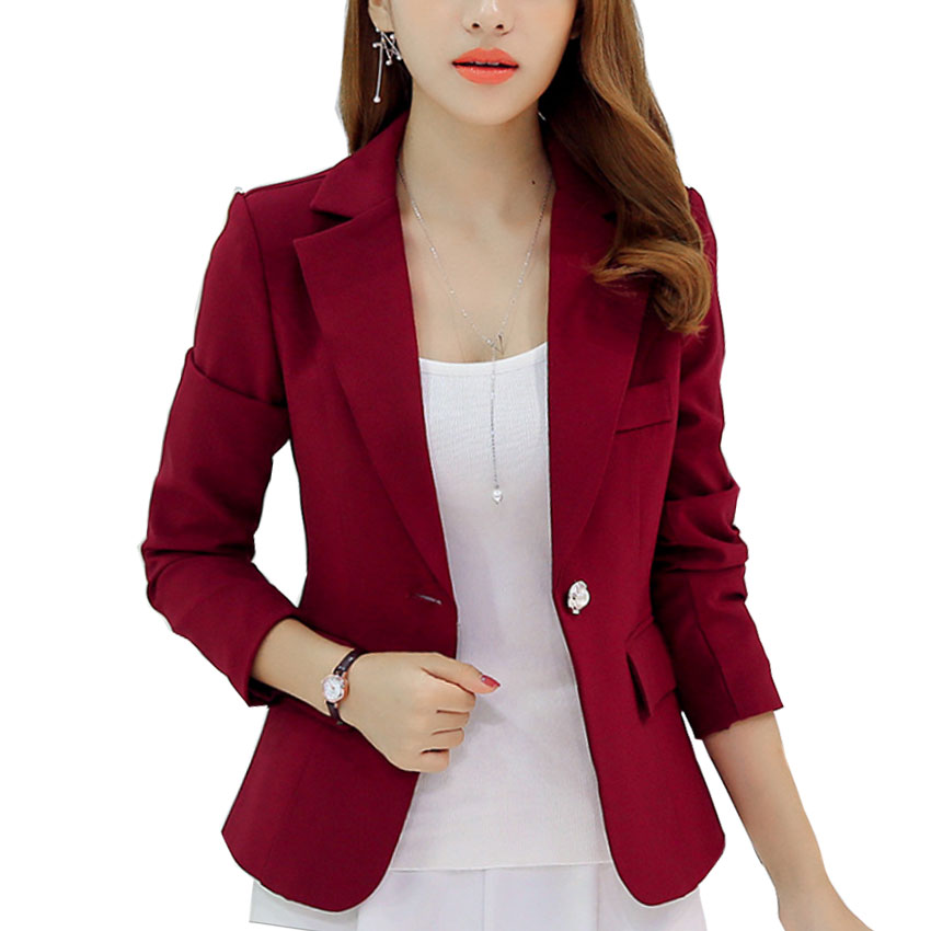 Aliexpress.com  Buy New Long Sleeved Slim Women Blazers And Jackets Small Women Suit Korean ...