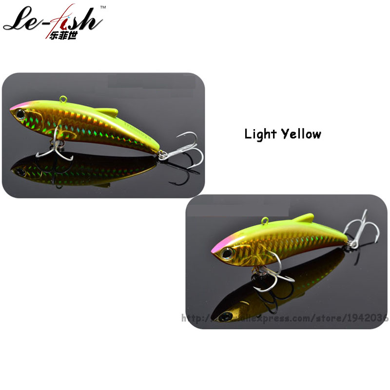 Le-Fish TSURINOYA VIB Balıqçılıq Lure Sərt Süni Yiyəsi 80mm / - Balıqçılıq - Fotoqrafiya 6