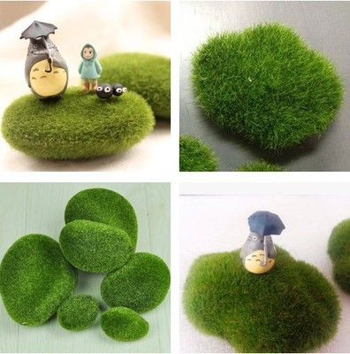 Retail Artificial Grass Fairy Garden Miniatures Gnome Moss