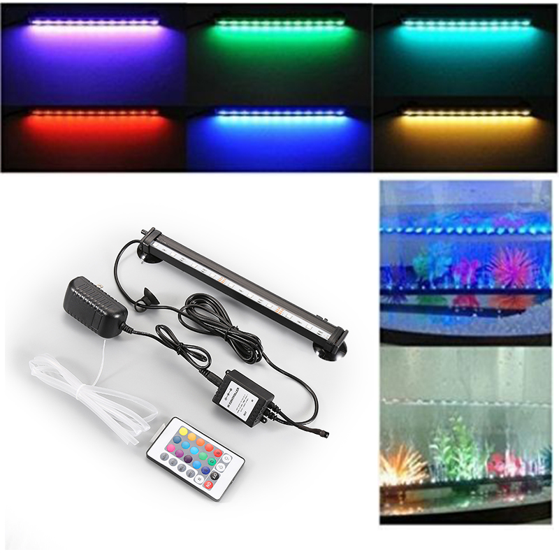 5050 rgb led remote colorful air bubble led aquarium light fish tank 5050 rgb led remote colorful air bubble led aquarium light fish tank coral lamp tube hot underwater light strip for fish in lightings from home garden on aloadofball Image collections