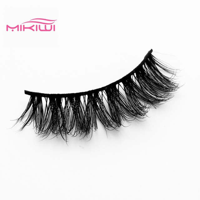 Aliexpress Buy Mikiwi 3d Mink Lashes A10 Cheap Handmade 3d
