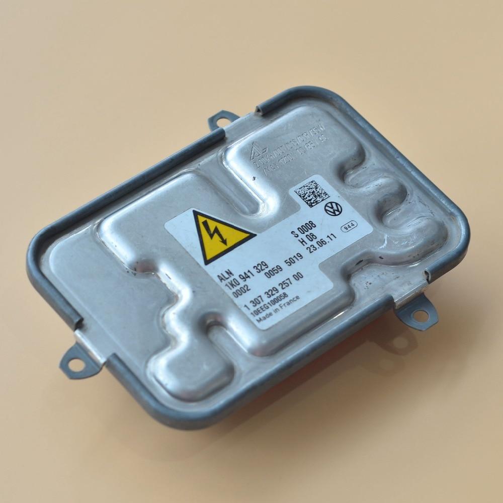 ФОТО OEM 08-11 VW Passat CC Xenon HID Ballast Headlight Unit Controller AFS 130732725700 (used / scrap) free shipping post/e-packet