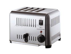 Commercial 4 Slice Stainless Steel Kitchen Toaster 220V