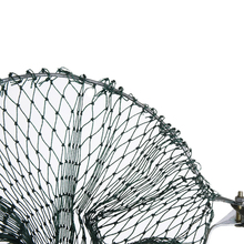 Fulljion Fishing Net Fish Trap Folding Round Metal Frame Nylon Mesh Crab Shrimp Fishing Landing Tackle Tools Casting Network