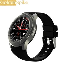 GoldenSpike DM368 sport Smart Watch Phone MTK6580 Android OS 3G WIFI GPS HeartRate AMOLED Display Quad Core Bluetooth Smartwatch
