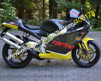 Motorcycle Parts For Aprilia RS250 1998 1999 2000 2001 2002 RS 250 98 99 00 01 02 Yellow Black Aftermarket Fairing Kit