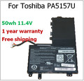 PA5157U-1BRS P000577250  U940 E55 E55T-A5320 E45T E45T-A4100 50wh genuine Original Laptop Battery For Toshiba PA5157U