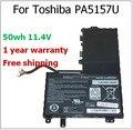 Pa5157u-1brs p000577250 u940 e55 e55t-a5320 e45t e45t-a4100 50wh genuino batería original del ordenador portátil para toshiba pa5157u