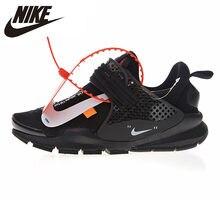 reputable site 07100 99221 Nike La Nike Chaussette de Dart Hommes et Femmes de Chaussures de Course  Absorption Des Chocs Noir Non-slip Léger Respirant 8196.