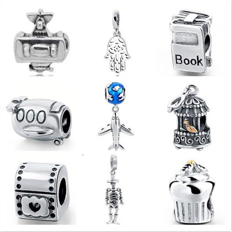 bracelet charms argent pandora